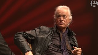 Jimmy Page on guitars, Live Aid and Robert Plant   Guardian Live