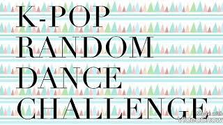 K-pop Random Dance Challenge | Solo K-pop