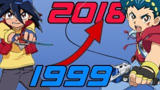 History/Evolution of Beyblade Games (1999-2018)