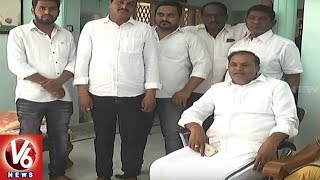Police House Arrests Congress Ex MLA Vijaya Ramana Rao Over Padayatra Protest
