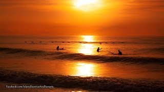 Ocean Sunrise -  Surfing Sunrise