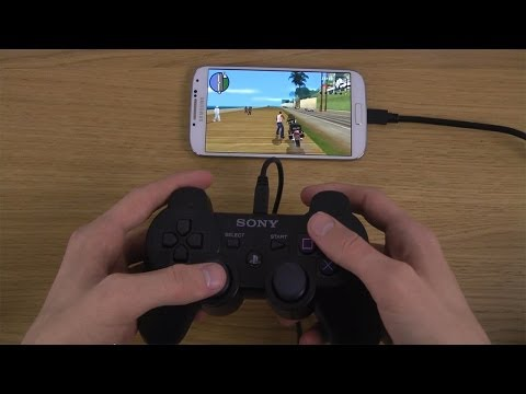 Grand Theft Auto: San Andreas Samsung Galaxy S4 PlayStation 3 Controller Gameplay Test