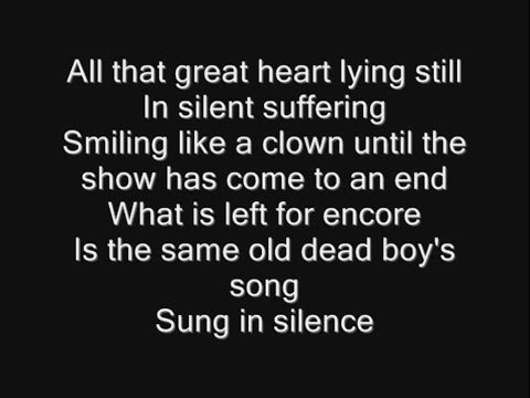 Nightwish - Song of Myself Lyrics