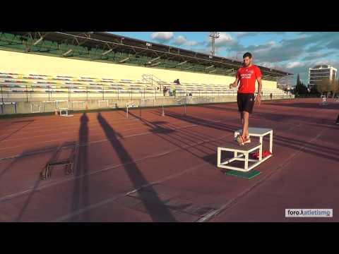 Entrenamiento de triple salto con José Luis Ortega