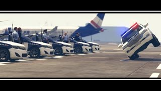 GTA 5 CAR MEET - montage review of police graduated ( Libyan Arab police )