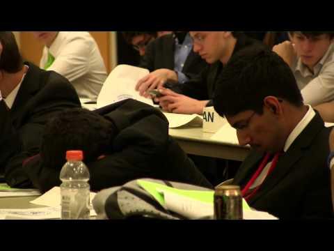Oregon MUN Spring Conference 2014 - Westview High School