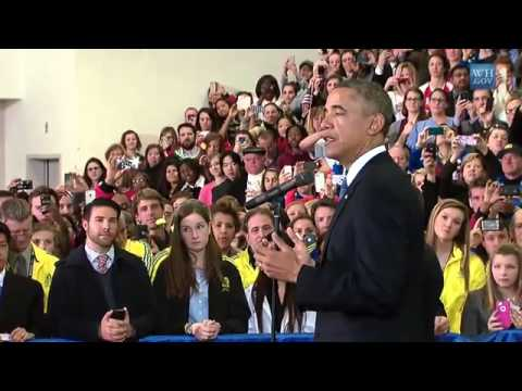 Video Obama in Boston: President Obama Speaks to Volunteers and First Responders in Boston