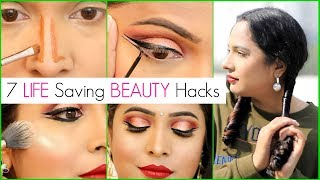 7 New MAKEUP & HAIR Beauty HACKS You MUST Try | #Haircare #Sketch #ShrutiArjunAnand