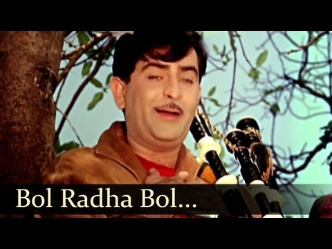 Sangam Songs - Bol Radha Bol - Mukesh video