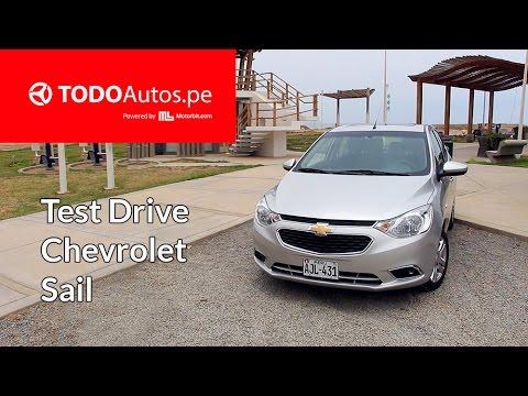 Chevrolet Sail 2016: Test Drive en Perú    TODOAutos.pe