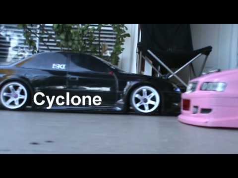 Street Jam Ota-R 66% counter steer video Toyota Mark II Hpi and Yokomo Chaser Body