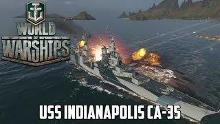 World of Warships - USS Indianapolis CA-35