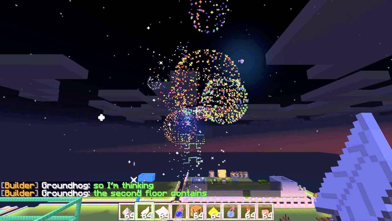 Awesome Rainbow Fireworks