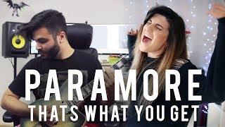 Paramore - Thats What You Get | Christina Rotondo & Andrew Baena Cover