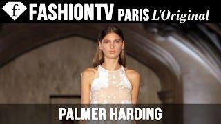 Palmer Harding Spring/Summer 2015 | London Fashion Week LFW | FashionTV
