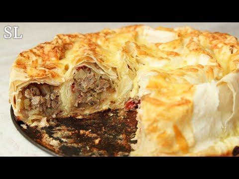 """Хоть Каждый День Готовь! Изумительный Пирог """"Улитка"""" из Лаваша! Нежный и Вкусный! Рецепт!"""