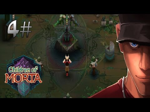 I found Naruto 2.0! In Children of Morta Part 4 The auto-targeting monk! Mark Gameplay
