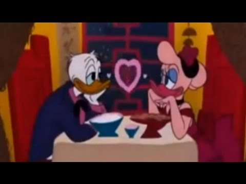 Donald Duck Cartoon ( Donald Love Story ) Over 2 Hours Non Stop ! video