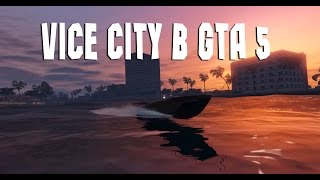 GTA 5 Vice City МОД КАРТА