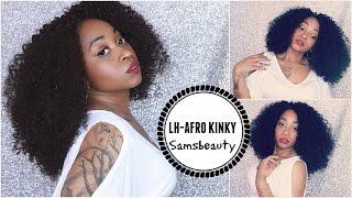 HOW TO ☆ AFRO KINKY WIG ☆ | SamoreLoveTV