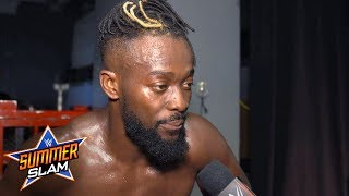 Kofi says Orton crossed a line at SummerSlam: SummerSlam Exclusive, Aug. 11, 2019