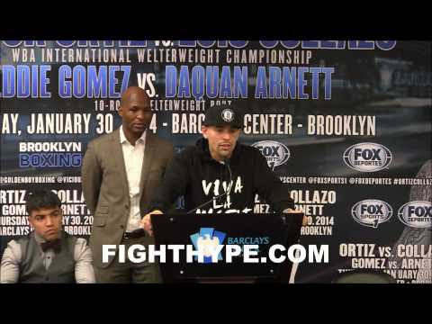 LUIS COLLAZO TALK VICTOR ORTIZ CLASH VIC BE READYITS GOING DOWN