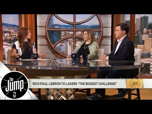 LeBron James to Lakers: Is Rich Paul right that this is his 'biggest challenge'? | The Jump | ESPN