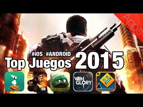 Los mejores juegos para el 2015 #iOS #Android