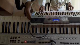 mujhe neend na aaye - Dil - Instrumental On Keyboard