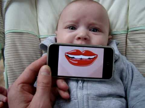 MouthOff iPhone baby -  the mouthiest app ever!!