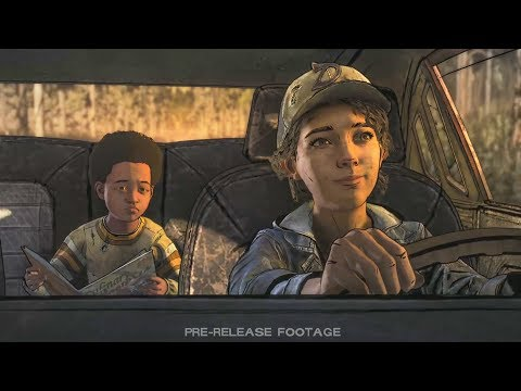 The Walking Dead: The Final Season - FIRST 15 MINUTES Comic-Con Gameplay HD