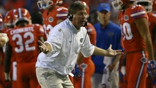 Watch Florida's Jim McElwain Furious With RB Kelvin Taylor | CampusInsiders