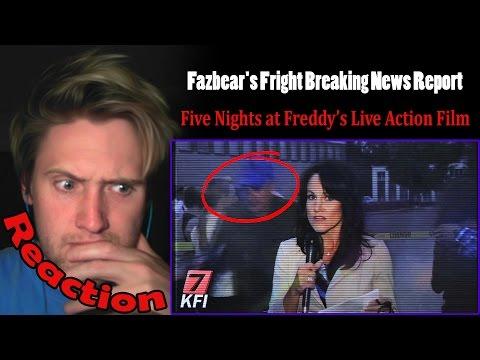 Fazbear's Fright Breaking News Report REACTION! | PURPLE GUY SPOTTED?! |