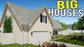 BIGGEST PAYOUT YET! RENOVATING EVEN BIGGER HOUSES FOR BIG MONEY - House Flipper Beta Gameplay