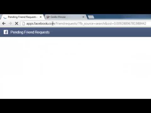 Lesson 13 How To Check Facebook Pending Friend Requests And Remove Them