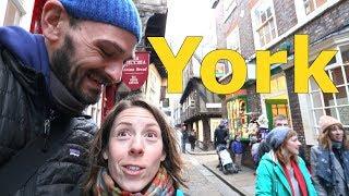 Exploring York, England