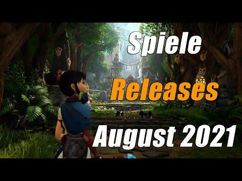 Spiele Releases im August 2021 | Für PC, PS5, PS4, Xbox One, Xbox Series X, Switch