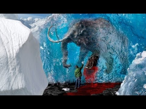 "Mammoth Found with ""Flowing Blood"""