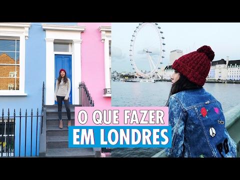 #VlogDaBru - O que fazer em Londres no FRIO