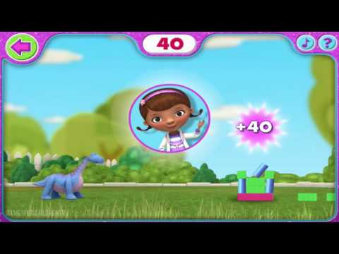 Doc McStuffins Full Episode of Sparkly Ball Sports Game - Complete Walkthrough - Cartoon for Kids (New 2014 Games by Disney Jr.) HD 1080p English