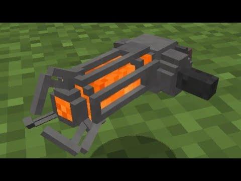 How to make a gravity gun (Minecraft PE Command blocks)