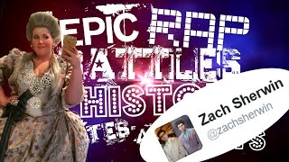 Epic Rap Battles Of History Updates And Hints Mini | Marie Antoinette, Zach Sherwin