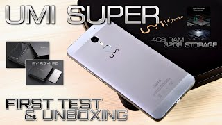 UMI Super (First Test & Unboxing) UMI
