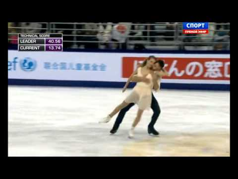 Cup of China 2014. FD. Gabriella PAPADAKIS / Guillaume CIZERON