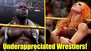 10 WWE Wrestlers That Are UNDERAPPRECIATED RIGHT NOW! (2018) - Apollo Crews, Becky Lynch & More!