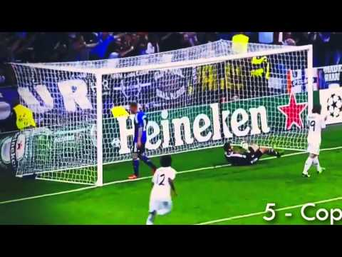 Cristiano Ronaldo [ All 17 UEFA Champions League Goals] New world record 2013-2014