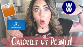 HOW TO CALCULATE CALORIES FOR WEIGHT LOSS | CALORIES VS POINTS | MYWW | WEIGHT WATCHERS!