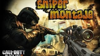 "Call Of Duty Black Ops 2 Montaje Sniper  Feeds And Trickshoots ""O My God"""