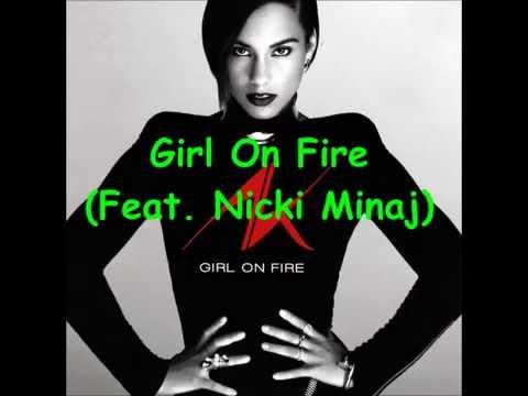 Girl On Fire Feat Nicki Minaj Speed Up