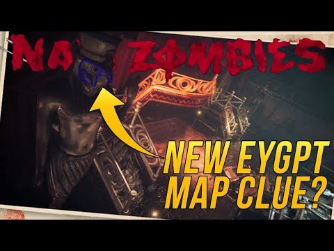 NEW WW2 DLC 2 Intel Hints at Ancient Egypt Coming to WW2 Zombies | Call of Duty World War 2 Zombies